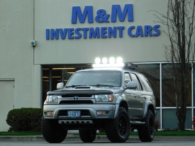 2002 Toyota 4Runner SR5 SPORT EDITION    TIMING BELT    LIFTED LIFTED - Photo 1 - Portland, OR 97217