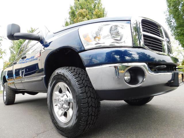 2007 Dodge Ram 2500 SLT BIG HORN EDITION / 4X4 / 5.9L DIESEL / 1-OWNER - Photo 10 - Portland, OR 97217