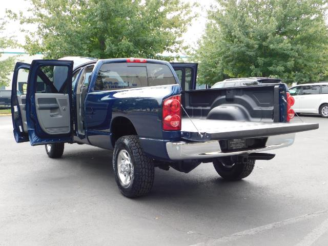 2007 Dodge Ram 2500 SLT BIG HORN EDITION / 4X4 / 5.9L DIESEL / 1-OWNER - Photo 27 - Portland, OR 97217