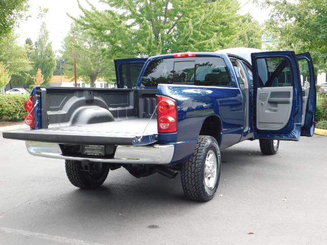 2007 Dodge Ram 2500 SLT BIG HORN EDITION / 4X4 / 5.9L DIESEL / 1-OWNER - Photo 28 - Portland, OR 97217