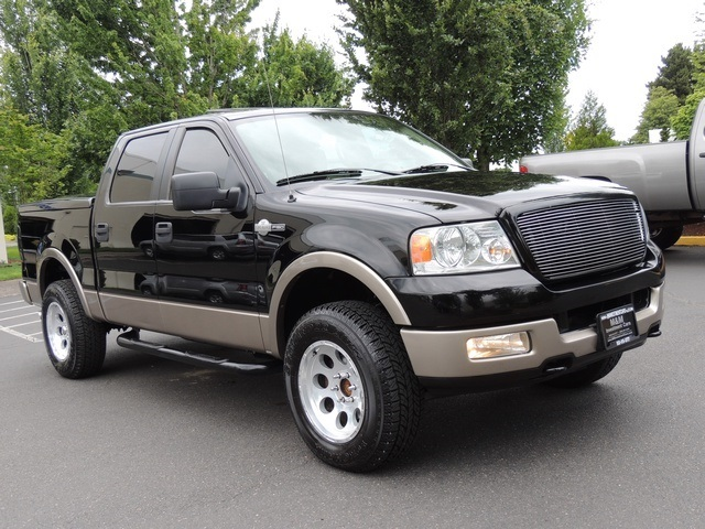 2005 Ford F 150 King Ranch Crew Cab 4x4 Leather Sunroof