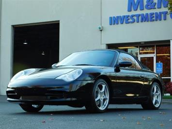 2004 Porsche 911 Carrera 4 / AWD / Convertible / 6-SPEED / 42K MILE Convertible