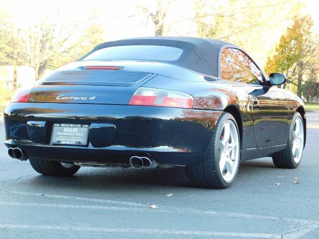2004 Porsche 911 Carrera 4 / AWD / Convertible / 6-SPEED / 42K MILE - Photo 8 - Portland, OR 97217