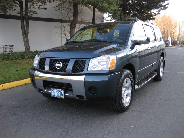 2004 nissan armada se off road 4wd dvd player 3rd seat. Black Bedroom Furniture Sets. Home Design Ideas