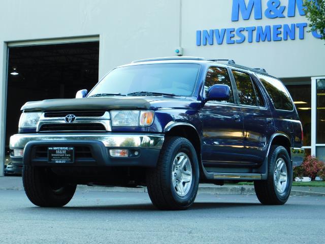 2002 Toyota 4Runner SR5 4X4 V6 DIFF LOCK / Timing Belt+Water Pump Done - Photo 1 - Portland, OR 97217