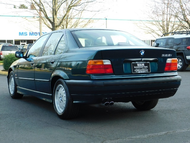 1996 BMW 328i / 4Dr  / Leather / 5-SPEED MANUAL / 1-OWNER - Photo 7 - Portland, OR 97217