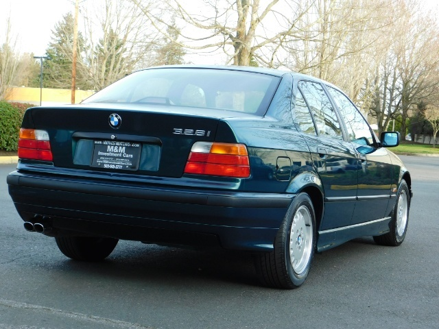1996 BMW 328i / 4Dr  / Leather / 5-SPEED MANUAL / 1-OWNER - Photo 8 - Portland, OR 97217