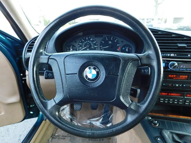 1996 BMW 328i / 4Dr  / Leather / 5-SPEED MANUAL / 1-OWNER - Photo 19 - Portland, OR 97217