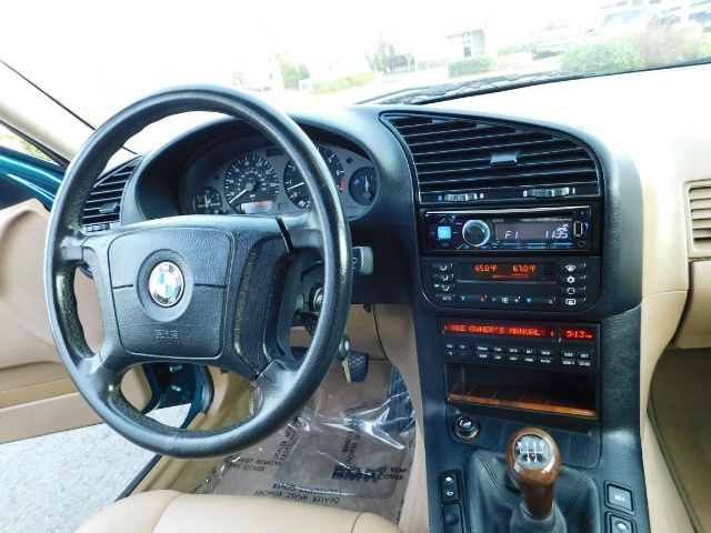 1996 BMW 328i / 4Dr  / Leather / 5-SPEED MANUAL / 1-OWNER - Photo 20 - Portland, OR 97217