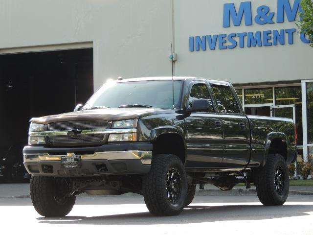 2005 Chevrolet Silverado 1500 LS 4dr Crew Cab / 4X4 / LIFTED / 86K Miles - Photo 1 - Portland, OR 97217