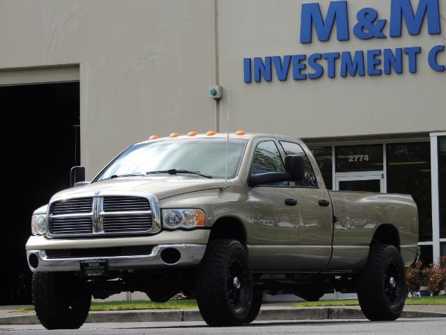 2004 Dodge Ram 3500 SLT 4dr Quad Cab / 4X4 / 5.9L DIESEL / 6-SPEED MAN - Photo 1 - Portland, OR 97217