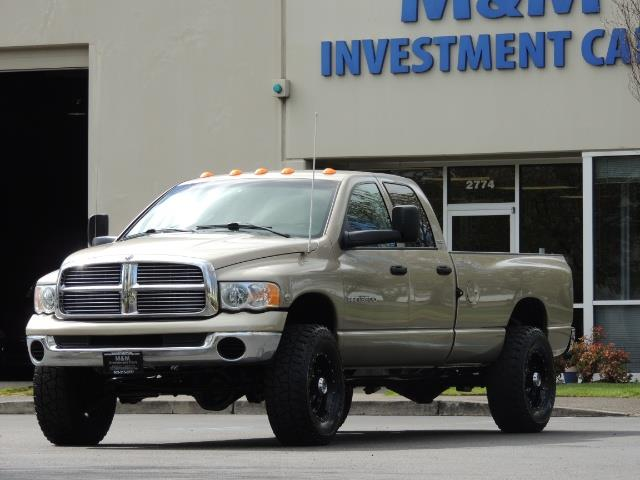 2004 Dodge Ram 3500 SLT 4dr Quad Cab / 4X4 / 5.9L DIESEL / 6-SPEED MAN - Photo 43 - Portland, OR 97217