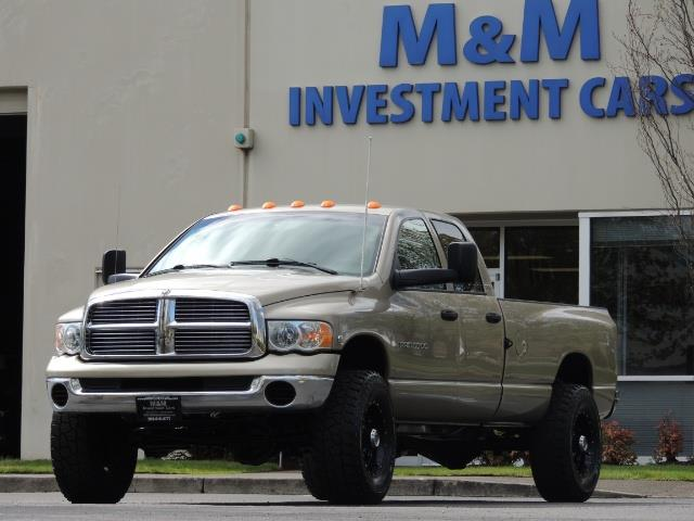 2004 Dodge Ram 3500 SLT 4dr Quad Cab / 4X4 / 5.9L DIESEL / 6-SPEED MAN - Photo 45 - Portland, OR 97217
