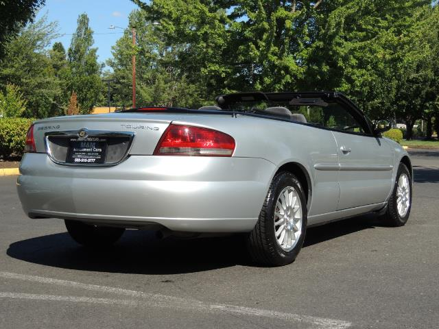 2004 Chrysler Sebring Touring / Convertible / ONly 74K MILES - Photo 8 - Portland, OR 97217