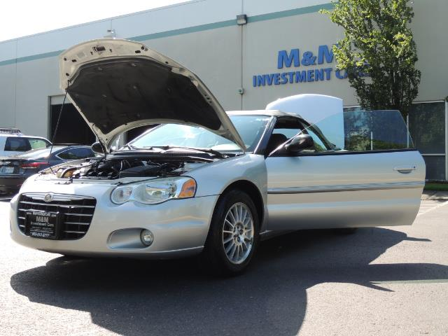 2004 Chrysler Sebring Touring / Convertible / ONly 74K MILES - Photo 25 - Portland, OR 97217