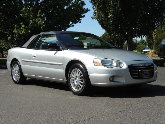 2004 Chrysler Sebring Touring / Convertible / ONly 74K MILES - Photo 35 - Portland, OR 97217