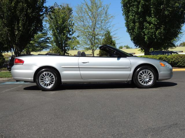 2004 Chrysler Sebring Touring / Convertible / ONly 74K MILES - Photo 4 - Portland, OR 97217