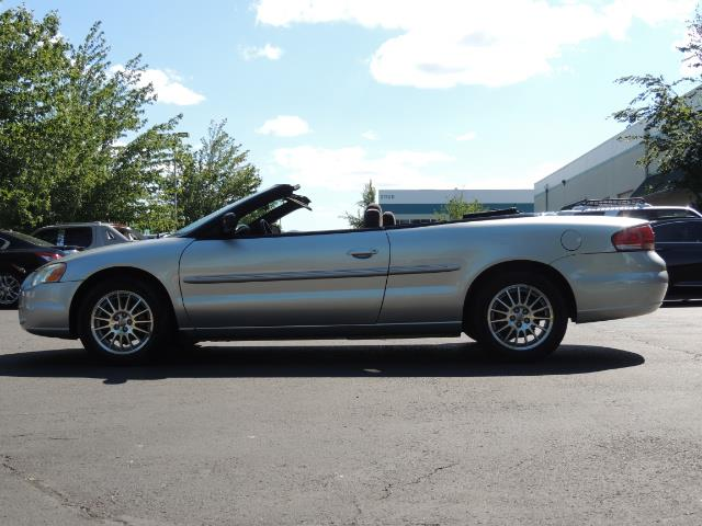 2004 Chrysler Sebring Touring / Convertible / ONly 74K MILES - Photo 3 - Portland, OR 97217