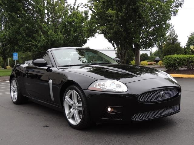 2007 Jaguar XKR / Convertible / Supercharged / 50K Miles
