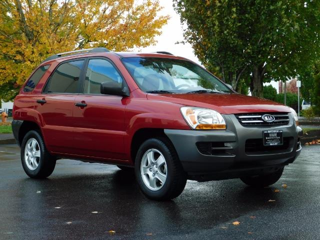 2008 Kia Sportage LX Sport Utility 4-Door / 5 SPEED MANUAL / 97K MLS - Photo 2 - Portland, OR 97217