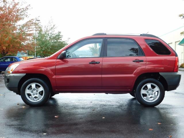 2008 Kia Sportage LX Sport Utility 4-Door / 5 SPEED MANUAL / 97K MLS - Photo 3 - Portland, OR 97217