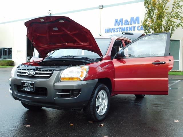 2008 Kia Sportage LX Sport Utility 4-Door / 5 SPEED MANUAL / 97K MLS - Photo 25 - Portland, OR 97217