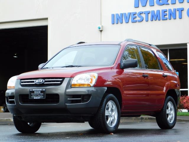 2008 Kia Sportage LX Sport Utility 4-Door / 5 SPEED MANUAL / 97K MLS - Photo 41 - Portland, OR 97217