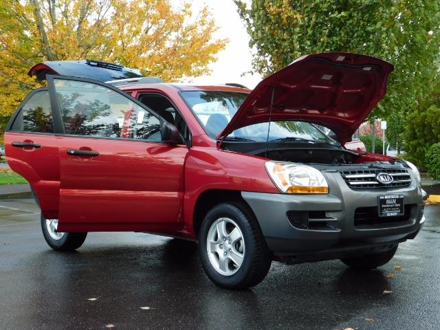 2008 Kia Sportage LX Sport Utility 4-Door / 5 SPEED MANUAL / 97K MLS - Photo 29 - Portland, OR 97217