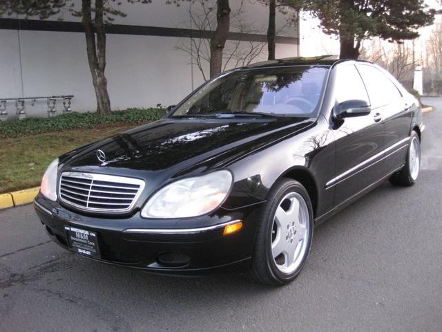 Wonderful 2000 Mercedes Benz S500 Sedan LWB NAVIGATION/ Records/ AMG Wheels   Photo 1