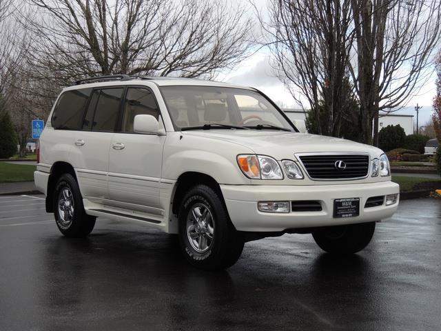 2001 Lexus LX 470 SUV 8-Penger 133kMile 4WD 3rd Seats