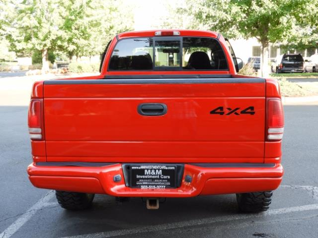 2000 Dodge Dakota SLT 4X4 V8 / CUSTOM BUMPER /  WINCH / LOW MILES !! - Photo 7 - Portland, OR 97217