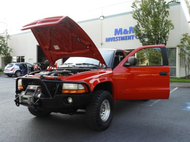 2000 Dodge Dakota SLT 4X4 V8 / CUSTOM BUMPER /  WINCH / LOW MILES !! - Photo 38 - Portland, OR 97217