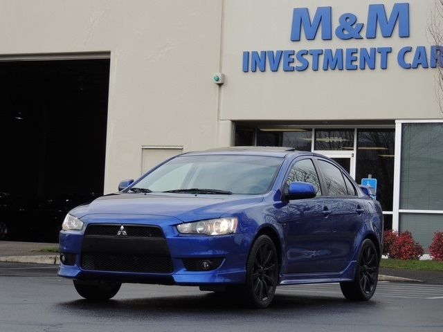 2008 Mitsubishi Lancer GTS / 5 SPEED / Navigation / Sunroof / Excel Cond