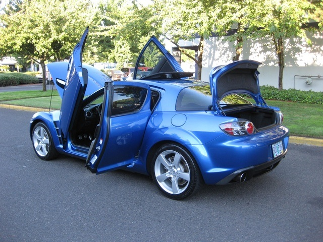 2004 mazda rx-8 6-speed manual grand touring