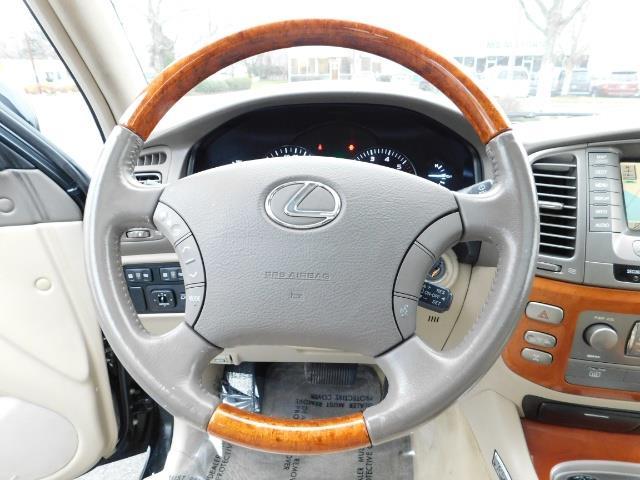 2003 Lexus LX 470 AWD / NAV / DVD / 3RD SEAT / NIGHT VISION - Photo 37 - Portland, OR 97217