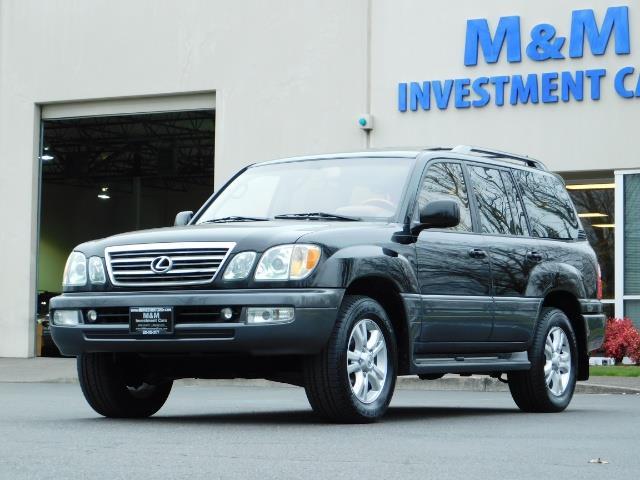 2003 Lexus LX 470 AWD / NAV / DVD / 3RD SEAT / NIGHT VISION - Photo 45 - Portland, OR 97217