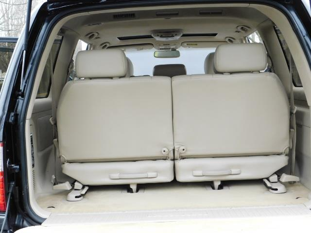 2003 Lexus LX 470 AWD / NAV / DVD / 3RD SEAT / NIGHT VISION - Photo 27 - Portland, OR 97217