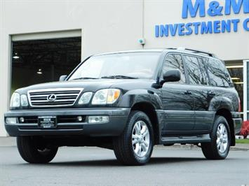 2003 Lexus LX 470 AWD / NAV / DVD / 3RD SEAT / NIGHT VISION SUV