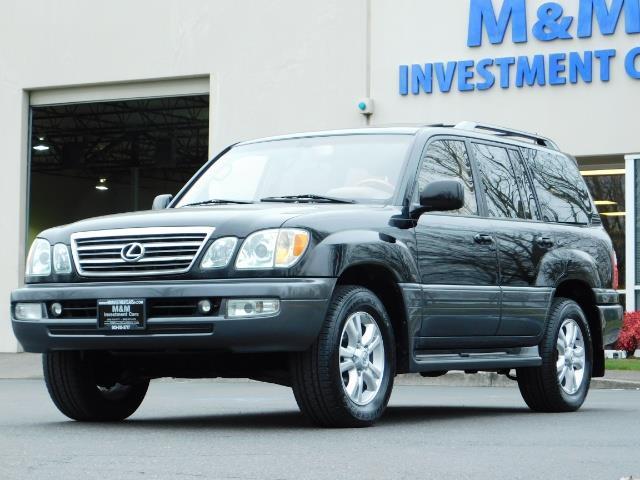 2003 Lexus LX 470 AWD / NAV / DVD / 3RD SEAT / NIGHT VISION - Photo 1 - Portland, OR 97217