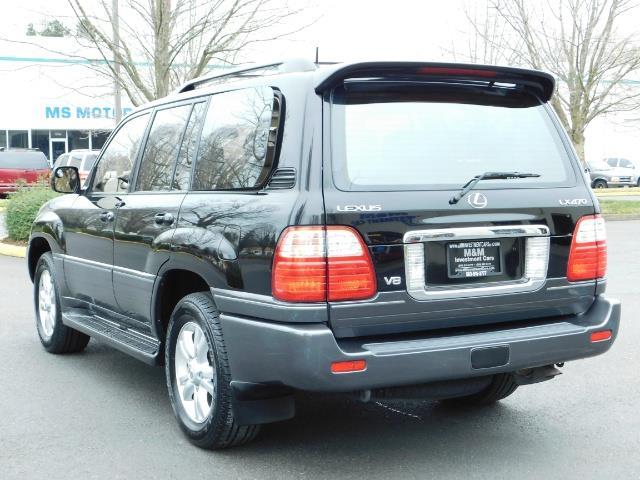 2003 Lexus LX 470 AWD / NAV / DVD / 3RD SEAT / NIGHT VISION - Photo 7 - Portland, OR 97217