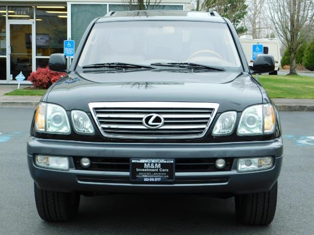 2003 Lexus LX 470 AWD / NAV / DVD / 3RD SEAT / NIGHT VISION - Photo 5 - Portland, OR 97217
