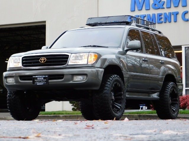 2000 toyota land cruiser v8 4x4 3rd seat new 20 xds custom lifted 2000 toyota land cruiser v8 4x4 3rd