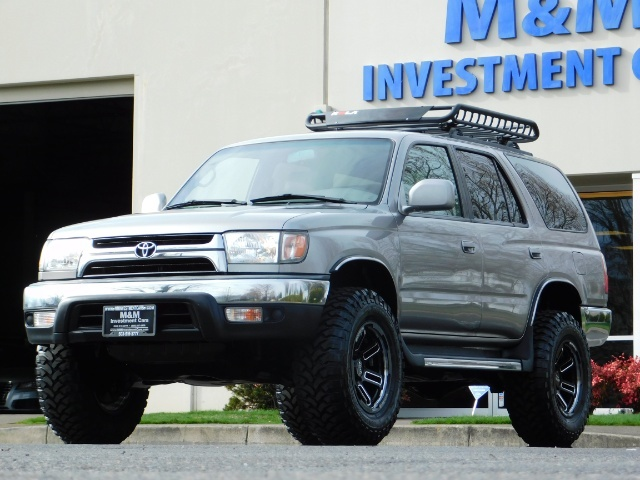 2002 Toyota 4Runner SR5 Sport Utility 4WD / 1-OWNER/ Low Miles/ LIFTED - Photo 47 - Portland, OR 97217