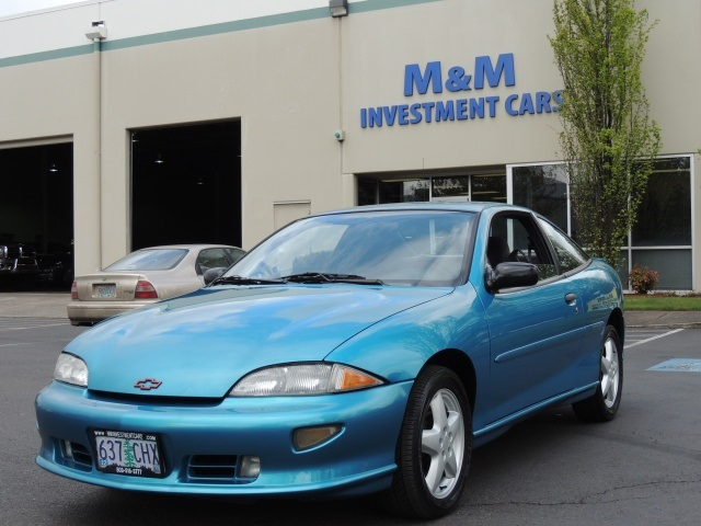 1998 Chevrolet Cavalier Z24 2dr Coupe 5 Speed Manual 4cyl Gas Saver