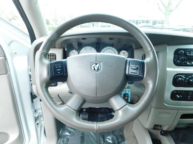 2005 Dodge Ram 3500 Laramie / 4X4 / 5.9L DIESEL / 105K Mi/ 6-Speed DRW - Photo 20 - Portland, OR 97217