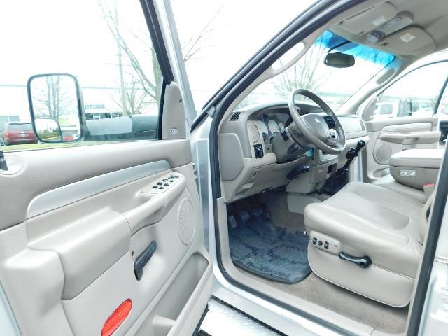 2005 Dodge Ram 3500 Laramie / 4X4 / 5.9L DIESEL / 105K Mi/ 6-Speed DRW - Photo 13 - Portland, OR 97217