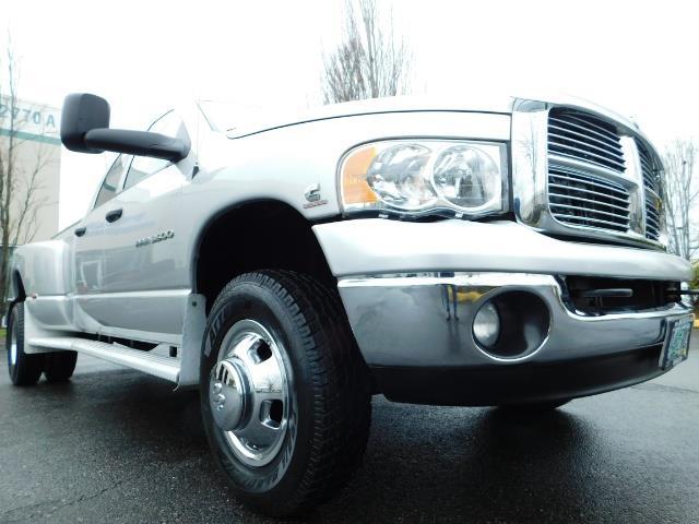 2005 Dodge Ram 3500 Laramie / 4X4 / 5.9L DIESEL / 105K Mi/ 6-Speed DRW - Photo 9 - Portland, OR 97217