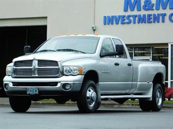 2005 Dodge Ram 3500 Laramie / 4X4 / 5.9L DIESEL / 105K Mi/ 6-Speed DRW Truck