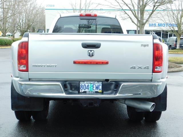 2005 Dodge Ram 3500 Laramie / 4X4 / 5.9L DIESEL / 105K Mi/ 6-Speed DRW - Photo 6 - Portland, OR 97217
