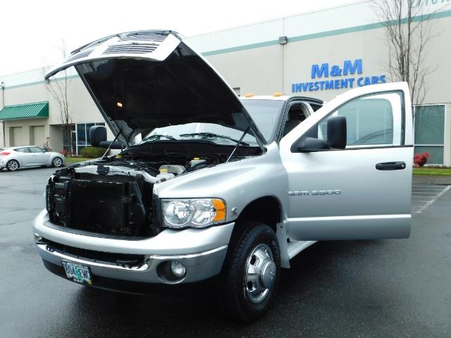 2005 Dodge Ram 3500 Laramie / 4X4 / 5.9L DIESEL / 105K Mi/ 6-Speed DRW - Photo 30 - Portland, OR 97217